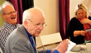 Anders Thuresson, pastor Rosmark i bakgrunden Margareta