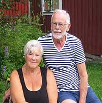 Barbro och Ingvar Rosander i Falun