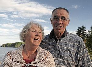 Cathis och Torsten Dicander i Falun
