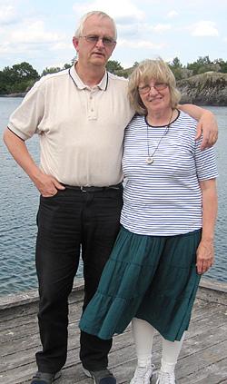 Dick och Annli Johsson från Borlänge