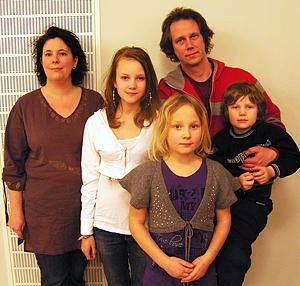 Familjen Hägglund Sunnanö i Borlänge