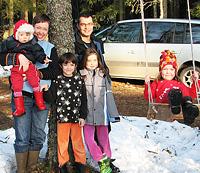 Familjen Möller-Skog, Falun
