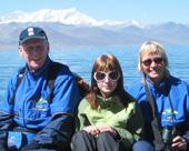 Familjen Spante-Norlanderfrån Falun på resa i Tibet