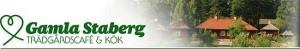 Logo + foto Gamla Staberg Trädgårdscafé & Kök