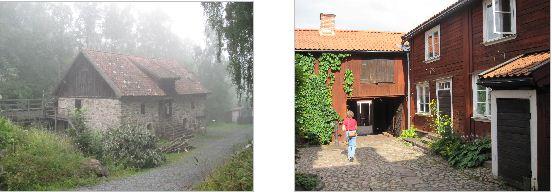 Kvarn utanför Gränna och museum i Eksjö