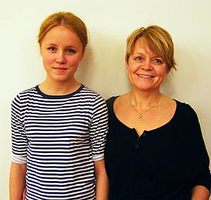 Emelie och Liselott Öström Borlänge