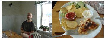 Bilder från Torsångs café