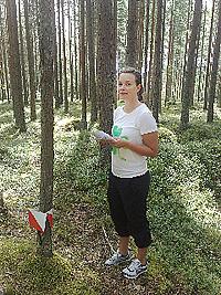 Ylva Larsson orienterar
